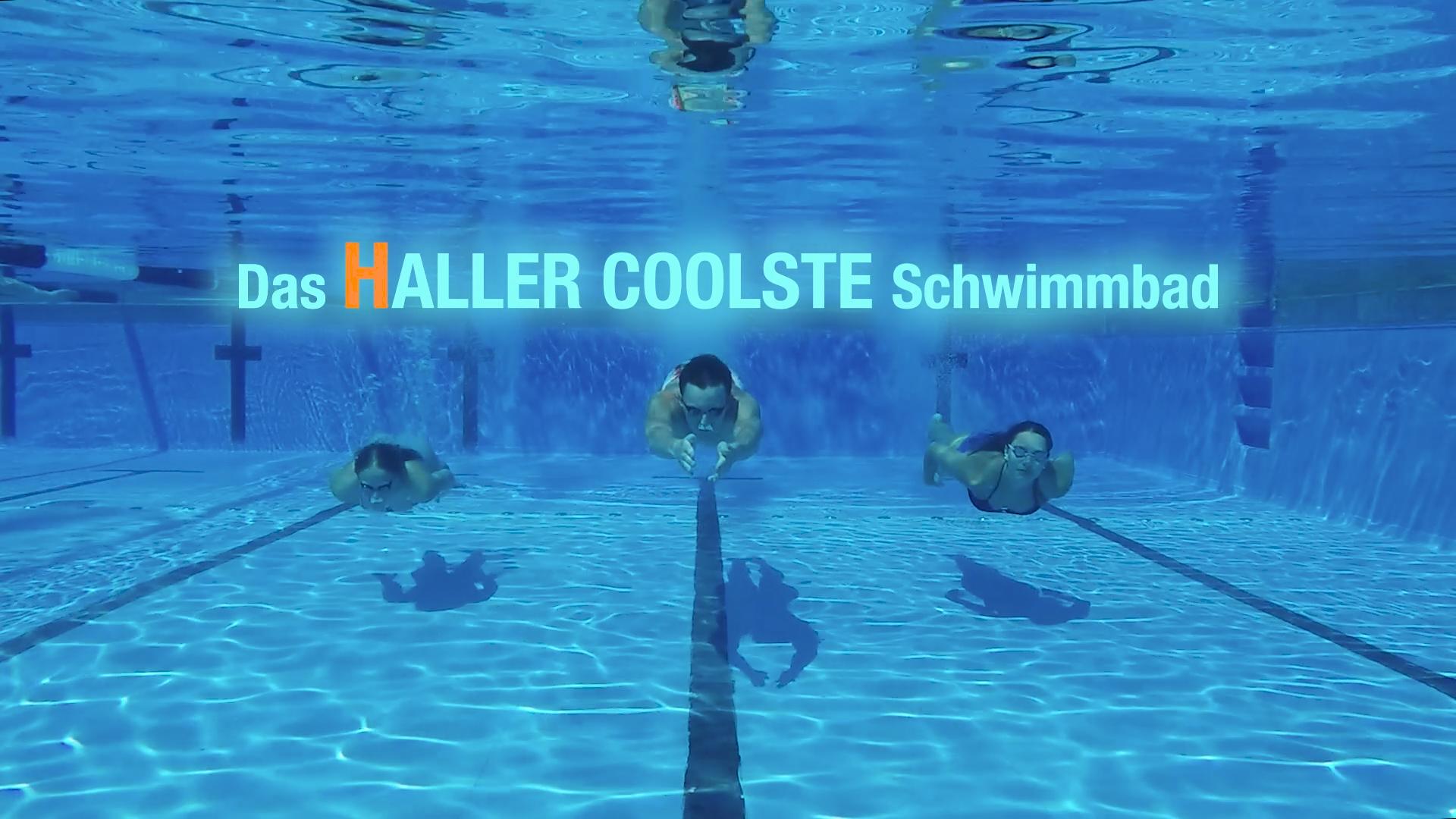Das HALLER COOLSTE Schwimmbad